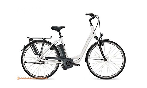 KALKHOFF Agattu i7R HS E-Bike E Bike Pedelec Elektrofahrrad 26″ Wave 46cm 396Wh Akku Weiß Modell 2017