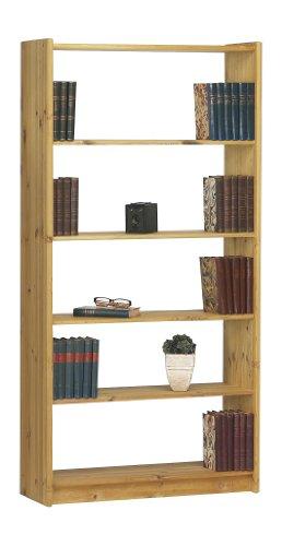 Steens 17914530 Bücherregal Axel 170 x 84 x 30 cm Kiefer massiv, gelaugt geölt