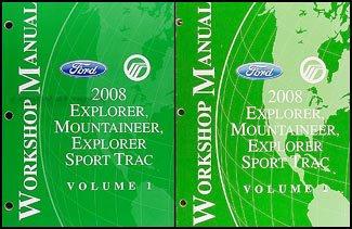 2008-ford-explorer-mercury-mountaineer-repair-shop-manual-set-original