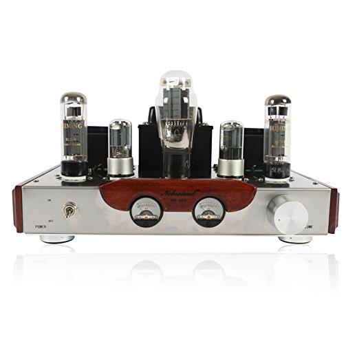 Nobsound® Hi-Fi Tube Amplifier, 110V input Voltage, Tubes: EL34*2 + 6N8P*2 +5Z3P*1 , Hi-end Tube Integrated Amplifier, Single Ended, 100% Handmade