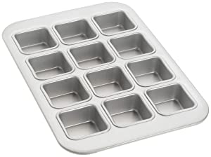 Fat Daddio's 12-Cup Square Muffin Pan