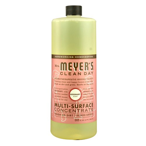 Mrs. Meyer's Multi Surface Concentrate, Rosemary, 32 Fluid Ounce