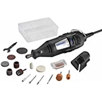 Dremel 200 Series 17-Piece 1.15 Amp 2-Speed Corded Rotary Tool Kit