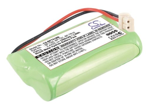 Battery2Go Ni-Mh Battery Pack Fits Sony Bp-T51, Bp-T50, Ntm-910 Baby Nursery Monitor, Bp-Tr10 front-262844