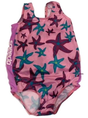 Girls Pink Speedo Flotation Swimming Suit Polywog Buoy