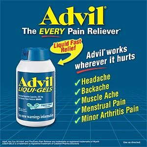 Advil Liqui-Gels - 240 Liquid Filled Capsules