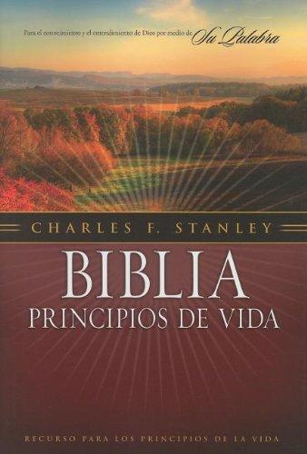 Biblia principios de vida del Dr. Charles F. Stanley (Spanish Edition)