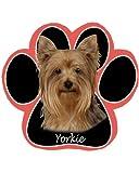 Yorkie Dog Paw Non-Slip Mousepad