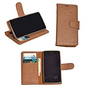 R&A Pu Leather Wallet Flip Case Cover With Card & ID Slots & Magnetic Closure For Sony Xperia X12