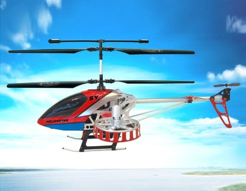 SongYang 8088-47 4-Channel Remote Control Helicopter (Red)