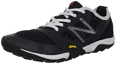 New Balance Women's WT20 Minimus Trail Running Shoe,Black/White,11 B US