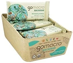 GOMACRO BAR GRNLA & COCONUT, 2 OZ