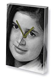 SOPHIE ALDRED - Canvas Clock (LARGE A3 - Signed by the Artist) #js003