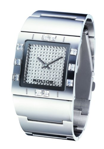 Police 'Sheen' Ladies Stainless Steel Bracelet Watch With Silver Dial