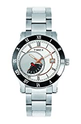 Timex E-Class Analog Silver Dial Mens Watch - I500