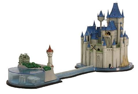 ルパン三世 カリオストロの城 カリ  オストロ城カットモデル 昼彩色ヴァージョン