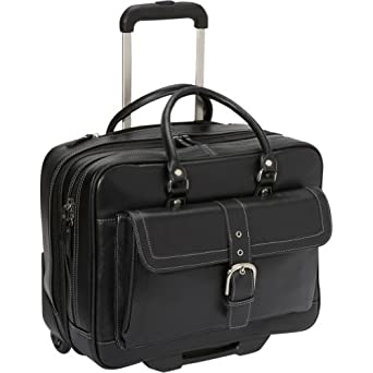 eBags Laptop Collection Soho Leather Mobile Office (Black)