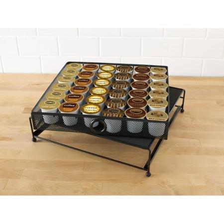 Mainstays 36-Pod Coffee Storage Drawer