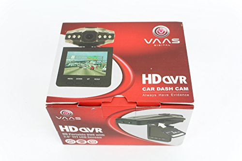 VAAS HD Portable DVR with 2.5 LCD Screen and Ext Camera In (Car Dash Camera Vaas compare prices)