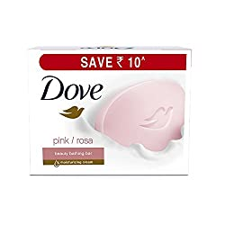 Dove Pink Rosa Beauty Bathing Bar, 3x100g