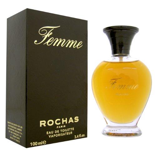 Femme Rochas by Rochas for Women - 3.4 Ounce EDT Spray