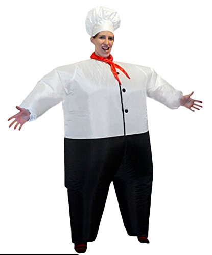 Ace Halloween Adult Inflatable Suit Cook Costumes