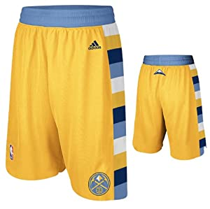 NBA Denver Nuggets Swingman Uniform Short, Small, Yellow