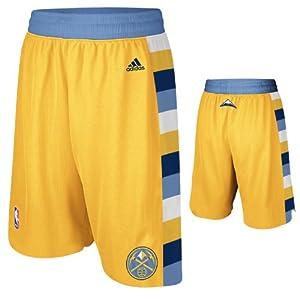 NBA Denver Nuggets Swingman Uniform Short, Small, Yellow