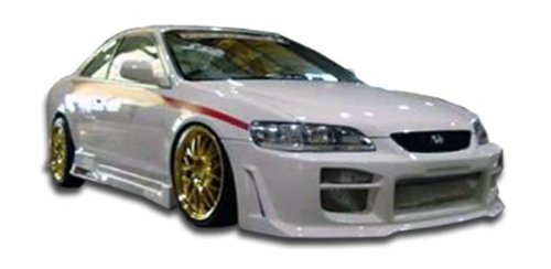 1998-2002 Honda Accord 4DR Duraflex R34 Body Kit - 4 Piece - Includes R34 Front Bumper Cover (101991) Spyder Rear Bumper Cover (101985) Spyder Side Skirts Rocker Panels (101986) (Honda Accord Body Kit compare prices)