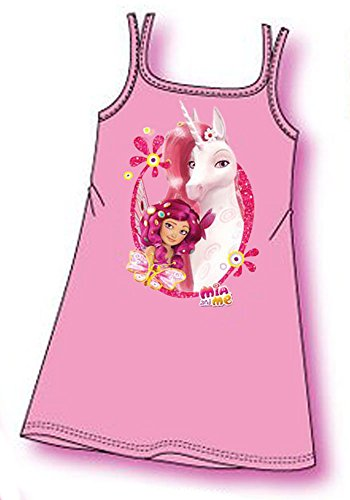 mia-and-me-girl-shirt-sleeveless-night-gift-boxed-official-product-new-oe7660-rose-pink-size5-years