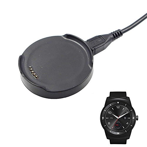 LG G Watch R W110 Charging Cradle Unismart® New Charging Cradle Charger Dock for Lg G Watch R W110 Smart Watch (W110 Dock) (Lg G Watch R Charger compare prices)