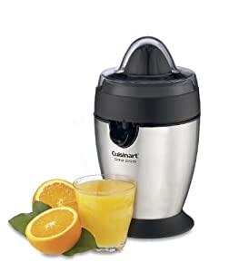 Factory-Reconditioned Cuisinart CCJ-100FR Citrus Juicer, Brushed Stainless Steel