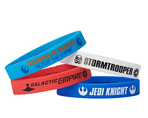 American Greetings Star Wars Rebels Party Supplies Rubber Bracelets (4 Count) - 1