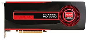 Sapphire Radeon HD 7970 3GB DDR5 HDMI/DVI-I/Dual Mini DP PCI-Express Graphics Card 21197-00-40G