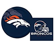 Denver Broncos Luncheon Napkins & Pla…