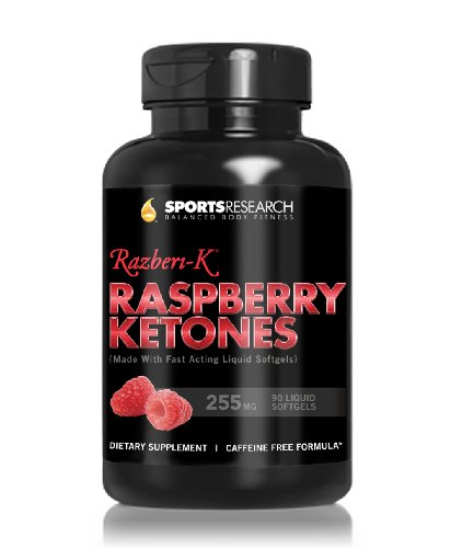 Raspberry Ketones 255 Mg Formulated With Extra Virgin Coconut Oil, 90 Fast Acting Liquid Softgel