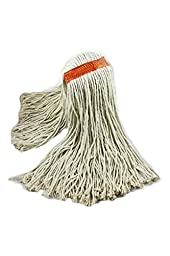 4 Pack - Cotton Wet Mop Cut End 20oz from Globe Commercial Products