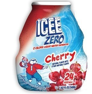 Icee Zero Water Enhancer, Cherry 1.62 Oz (Pack of 6) (Cherry Icee compare prices)