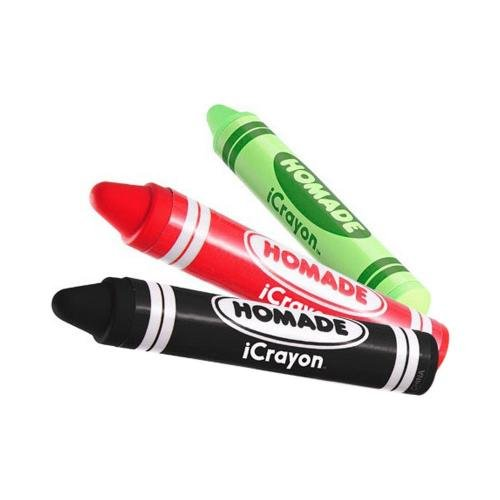 Black Crayon Oem Homade Universal Icrayon Stylus Pen For Touch Screen