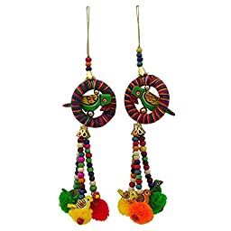 Indian Decorative Blouse Latkans Pom Pom Tassels Accessories Sewing By 1 Pair