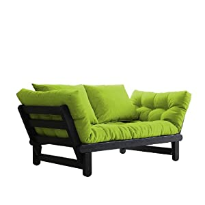 fresh futon beat convertible futon sofa bed black frame