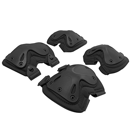 g-i-mall-2-packs-protective-safety-gear-elbows-knees-pads-guard-set-for-outdoor-tactical-combat-real