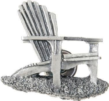 Adirondack Chair Napkin Rings Set of 4 Pewter