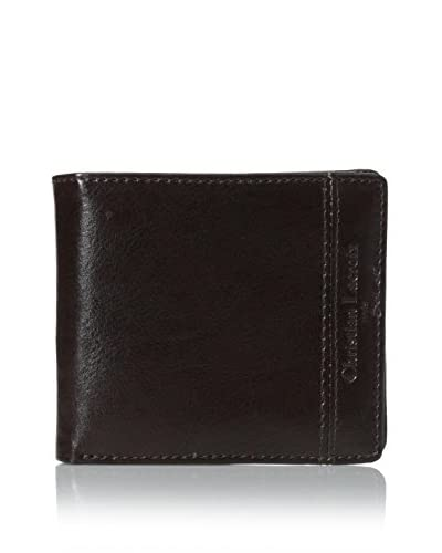 Christian Lacroix Men's Hipster Billfold Wallet, Brown