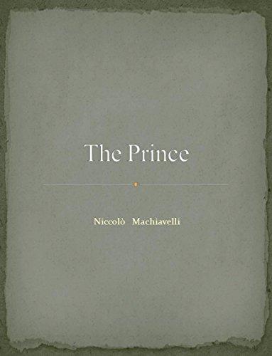Nicolo Machiavelli - The prince