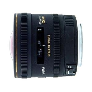 Sigma 4,5 mm F2,8 EX DC HSM Zirkular Fisheye-Objektiv (Gelatinefilter) für Canon Objektivbajonett