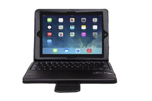 ShineZoneApple iPad Air 2 (2014) (iPad Air 2 2014 だけ 適用)専用 一体型 Bluetoothワイヤレスキーボード 高品質 Bluetooth キーボード マグネット着脱可能