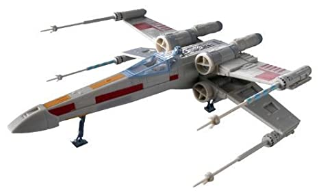 Revell X-Wing Fighter Plastic Spacecraft Model Building Kit by Revell TOY (English Manual)