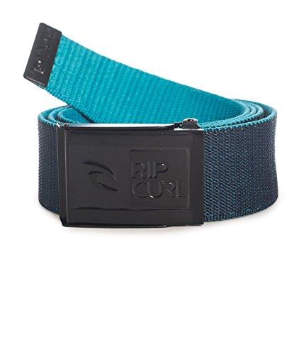 Rip Curl costole Revo Webbed Belt-Cintura da uomo, Uomo, Gürtel Rippen Revo Webbed Belt, blu navy, Taglia unica