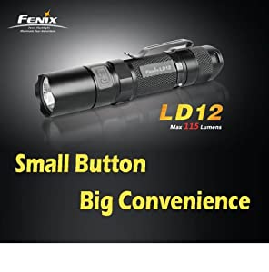 Fenix LD12 115 Lumens CREE XP-G R5 LED Flashlight - Uses 1XAA Battery